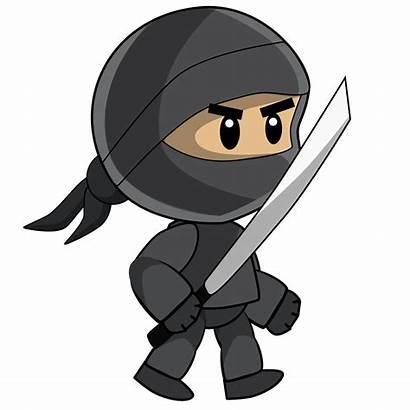 Ninja Transparent Clipart Cartoon Clip Assassin Purepng
