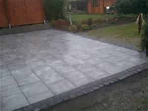 Betonplatten Verlegen Auf Erde : terrassenplatten verlegen naturstein terrasse ~ Whattoseeinmadrid.com Haus und Dekorationen