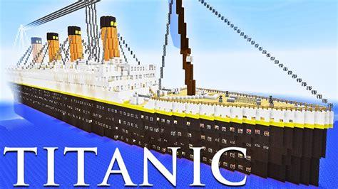 Minecraft Boat Titanic by Titanic No Minecraft Minecraft Constru 231 245 Es