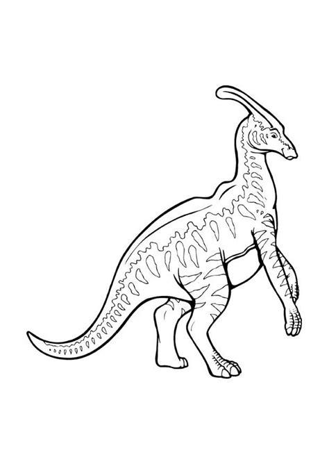 malvorlage parasaurolophus ausmalbild  images