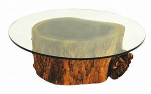 tree trunk coffee table round dans design magz lovely With round tree trunk coffee table