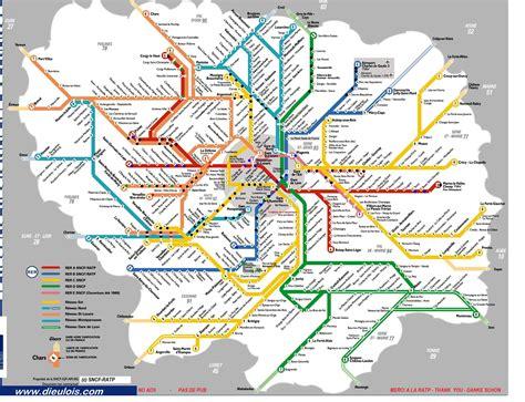 Carte Rer Parisien by Plan Rer 187 Vacances Arts Guides Voyages