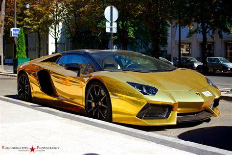 Gold Lamborghini Aventador Roadster Lp700 4 Become A