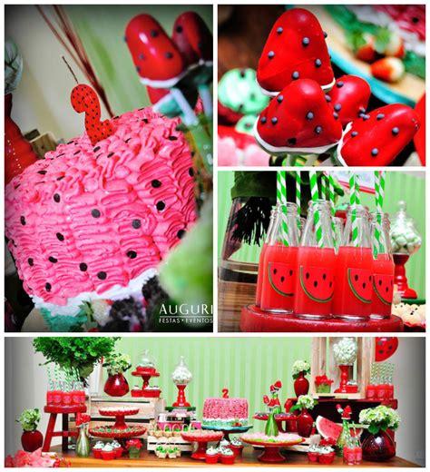 kara 39 s party ideas watermelon fruit summer girl 1st kara 39 s party ideas watermelon themed birthday party via