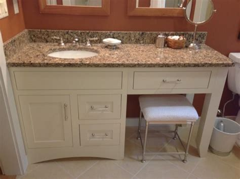 single sink bathroom vanity with makeup area best 25 bathroom makeup vanities ideas on