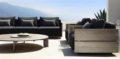 canapé extérieur design mobilier extérieur design haut de gamme