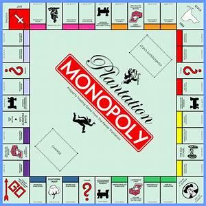 Quashie Art  Plantation Monopoly Game