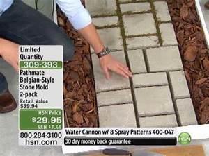 Do-It-Yourself Belgian-Style Cobblestone Walkway Mold 2