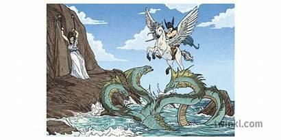 Medusa Perseus Greek Andromeda Sea Monster Mythology
