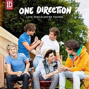 One Direction's Live While We're Young single artwork