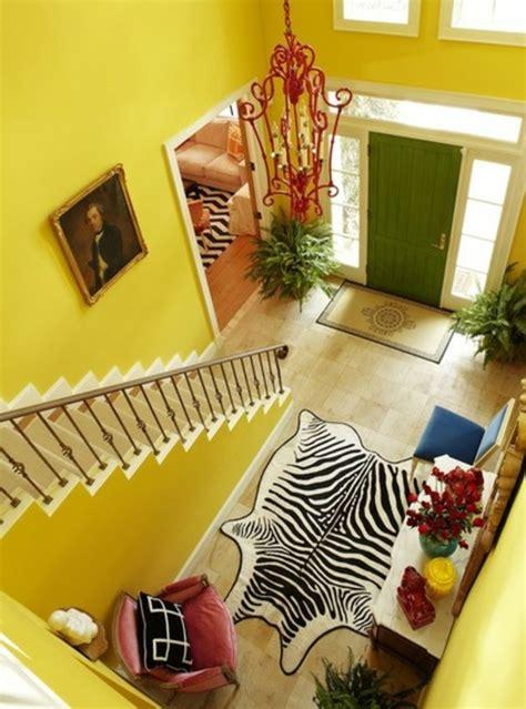 Flur Gestalten Gelb by Farben Treppenhaus Beispiele Kinderzimmer Wand Baum