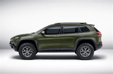 jeep cherokee green 2015 the daily dose jeep announces new models vj drives tacoma