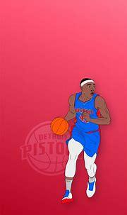 Sekou Doumbouya - Detroit Pistons Phone Background in 2021 ...