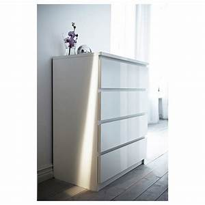 Ikea Wickelaufsatz Malm : malm chest of 4 drawers white high gloss 80 x 100 cm ikea ~ Markanthonyermac.com Haus und Dekorationen