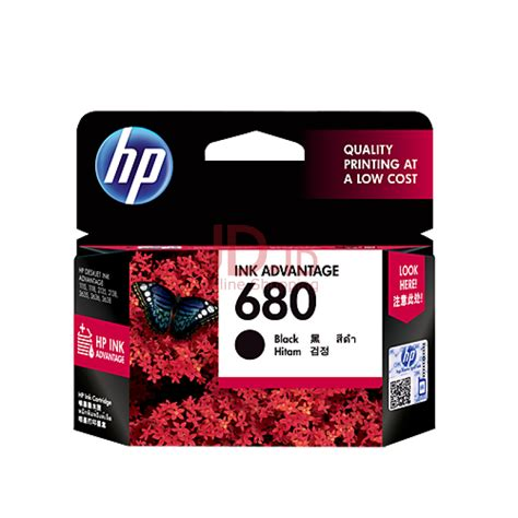 Hp Tinta Original 680 Black jual hp 680 black ink cartridge jd id