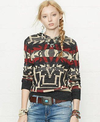 Polo ralph lauren's hoodie wouldn't look out of place in a thrift shop. Denim & Supply Ralph Lauren Southwestern-Print Hoodie ...