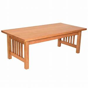 american mission coffee table vermont woods studios With mission coffee table set