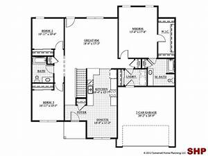 Small House Plans With Garage In Front Home Designs L