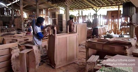 jasa pembuatan furniture kayu jati mahoni allia furniture