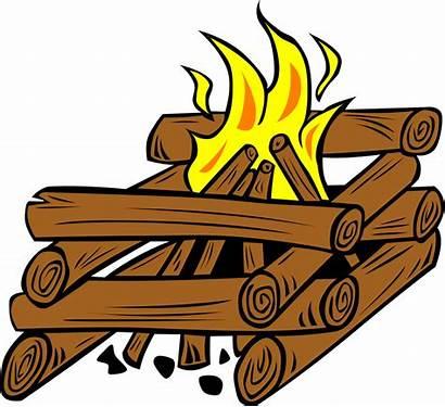 Fire Svg Camp Log Cabin Campfire Clip