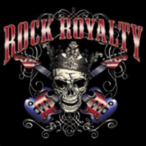 shirt tete de mort  guitare rock royalty biker