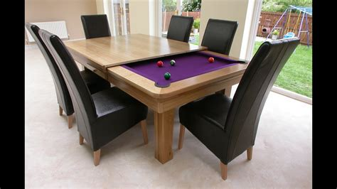 Table For Dinner Room by Awesome Pool Table Dining Table Combo