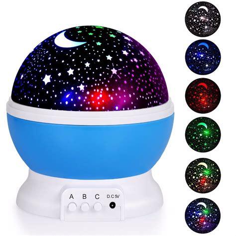 star fly star moon rotating projector night light best seller romantic new rotating star moon sky rotation