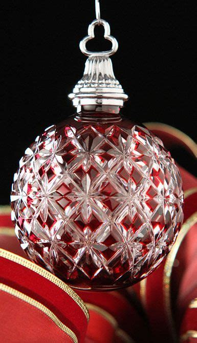 exquisite christmas ornaments 37 best waterford ornaments images on waterford ornaments deco and