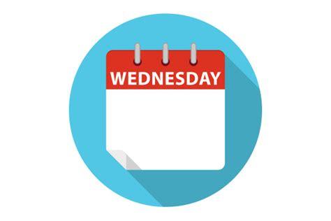 blue work vector calendar wednesday ccpixs com