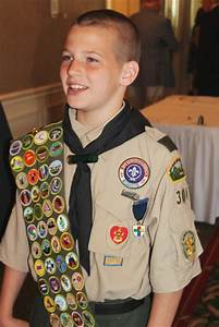 scout congratulated for his many 39 merits 39 local news