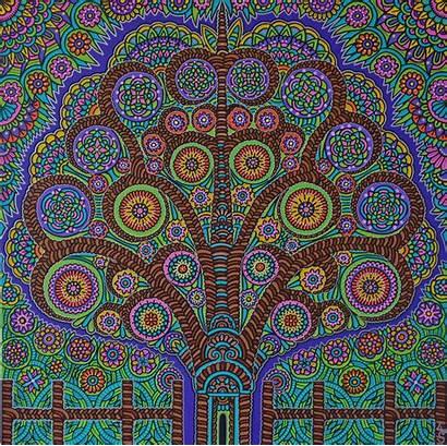 Psychedelic Portal Lyuba Artpeoplegallery