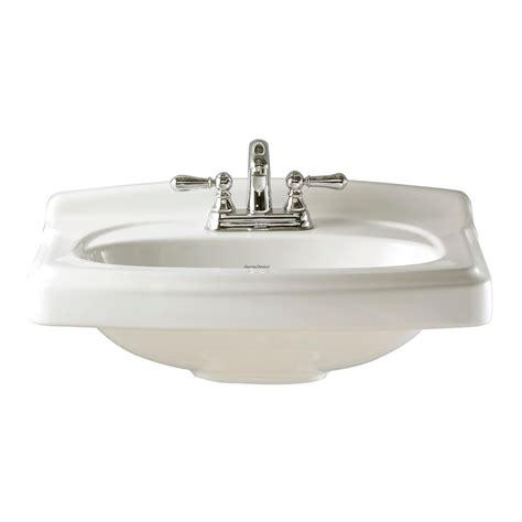Pedestal Sinks Home Depot Canada by American Standard Portsmouth 10 Inch Pedestal Sink Basin