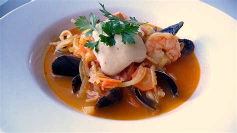 cuisine marseillaise bouillabaisse with aioli blue moon in flickr