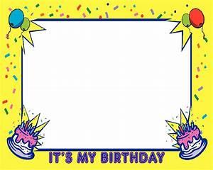 Birthday Frames - Cliparts.co