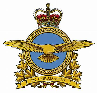 Force Canadian Air Royal Badge Rcaf Forces