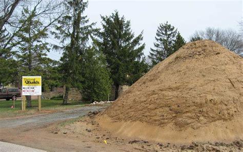 dirt slab raised concrete build fill own