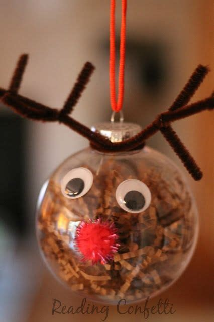 christmas ornament project for pre k and easy reindeer ornaments for to make this