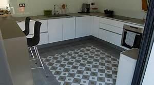 comment nettoyer des carreaux de ciment six astuces With nettoyer carreaux ciment anciens