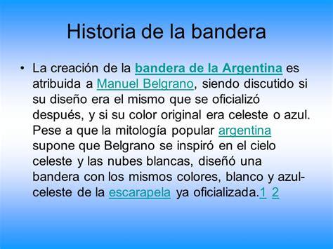 historia de la creacion de la bandera argentina para nivel inicial historia de la creacion de la