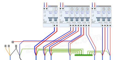 tableau electrique pour cuisine installation lectrique cuisine llectricit dans la cuisine schma et plan des circuits norme