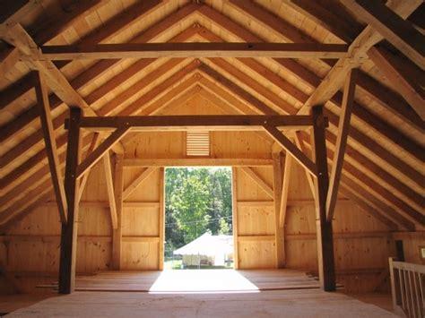 timber frame barn  landgrove vermont