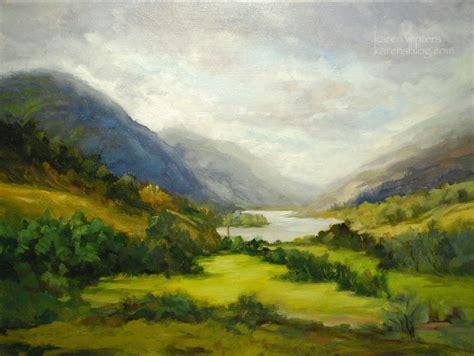 Loch Shiel Scotland Landscape Oil Painting
