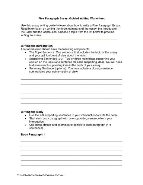 images  introduction paragraph worksheet essay