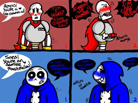 Blushing Boneheads (undertale) By Yaoilover113 On Deviantart