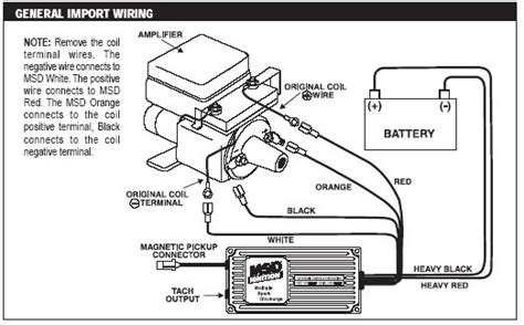 Toyotum 20r Msd Ignition Wiring Diagram by How To Msd 6a Installation On A 22re Pirate4x4