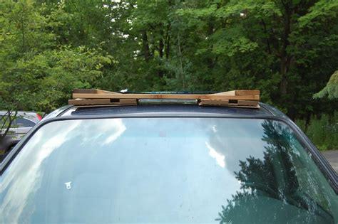 diy roof rack a diy roof rack make your small car carry big stuff