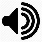 Speaker Icon Audio Vector Transparent Sound Volume