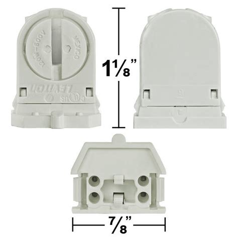 leviton t5 l holder leviton 13654 swp t5 mini bi pin socket