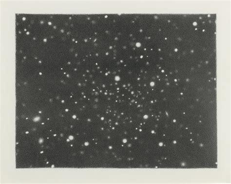 Vija Celmins (b. 1939) , Galaxy (Hydra) | Christie's