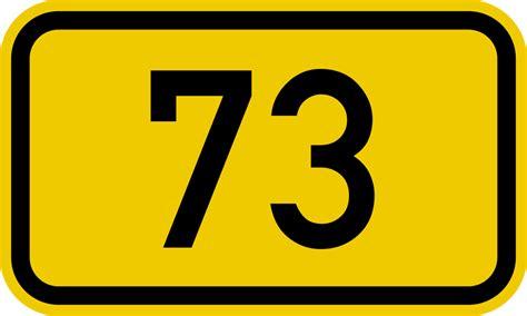 Bundesstraße 73 Number.svg